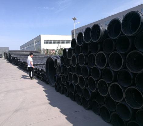 高密度聚乙烯缠绕结构壁B型管