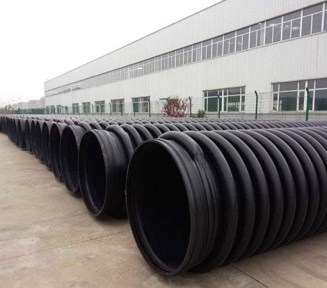 大连高密度聚乙烯缠绕增强管