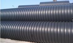 山海关钢带增强聚乙烯螺旋波纹管